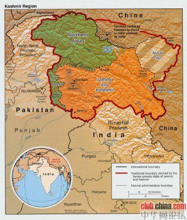 世界屋脊上的争斗——浅谈印巴克什米尔问题的由来